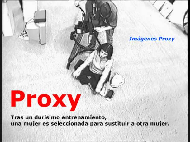 2001 Proxy de Dora García