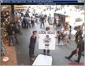 2001 Surveillance Times Square Cam