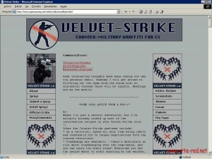 2002 The Velvet Strike Team
