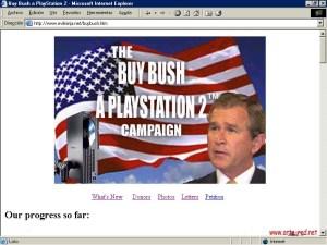2003 Mikel Reparaz - Buy Bush a Playstation2