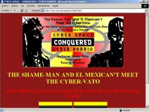 2004 Cyber-Vato de Guillermo Gómez-Peña