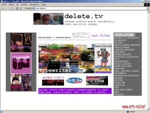 2004 delete.tv de Fran Ilich