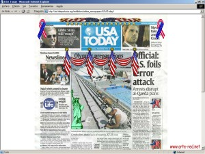 2004 Online Newspapers de Olia Lialina