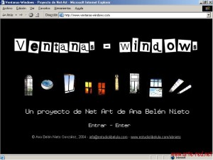 2004 Ventanas-Windows - Belen Nieto
