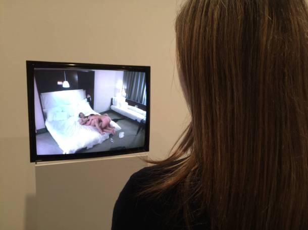 Andrea Fraser Porno en el MACBA