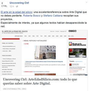 P Glez Diaz Uncovering Ctrl