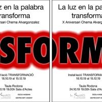 Chema Alvargonzalez // La luz en la palabra transforma